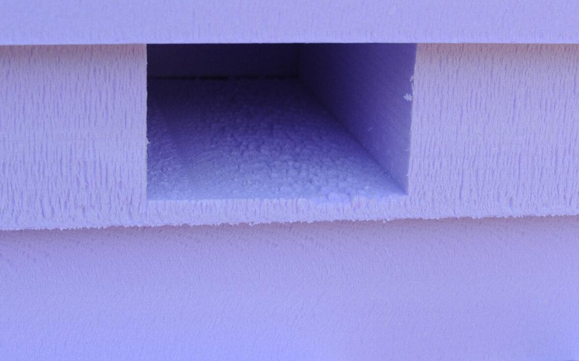 Isolatiesysteem vormt tevens tolerantieloze bekisting - Ook bij geringe bouwdiepte optimale fundering mogelijk