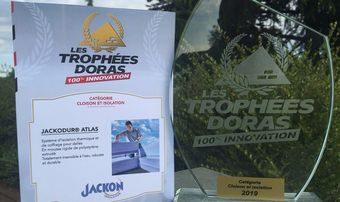 JACKODUR<sup>®</sup> Atlas wint de Trophée DORAS 100% innovation 2019!